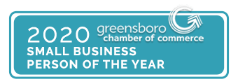 Greensboro NC 2020 Small Business Person Of The Year With Borders