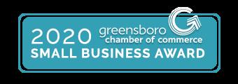 Greensboro NC Small Business Award 2020